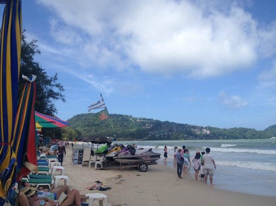 Thara Patong Beach Resort & Spa: The Beach 150 meters away