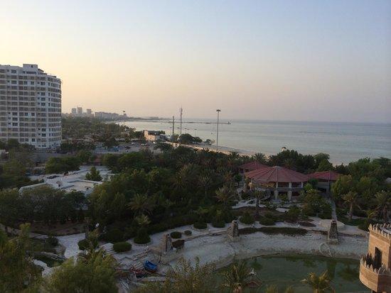 Dariush Grand Hotel: View from room