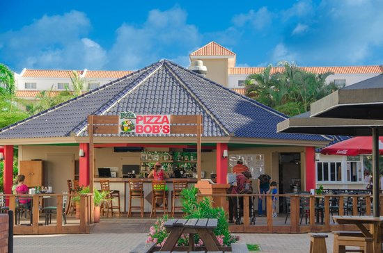 Tropicana Aruba Resort & Casino: Pizza bob's Italian restaurant and pizzeria