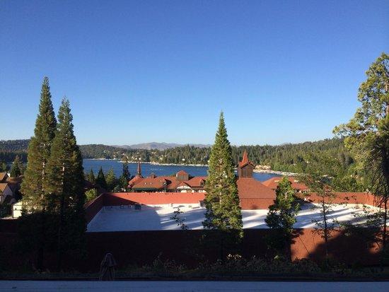 Arrowhead Lake Inn: View from our room