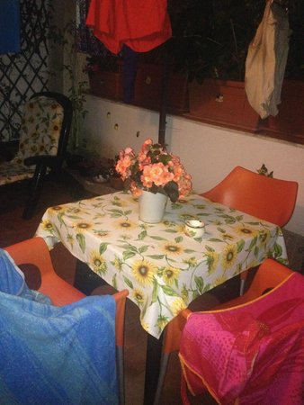 Salerno Centro Bed and Breakfast: Private patio