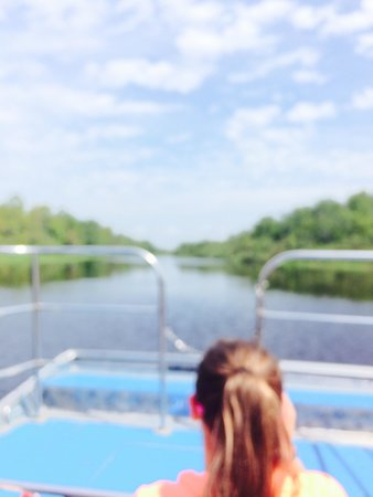 Tom and Jerry's Airboat Rides: What a ride.