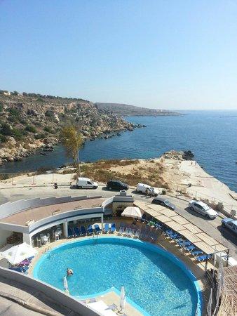 Ambassador Hotel: The pool and bay at ambassador