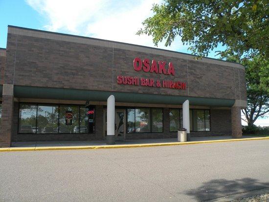 Osaka Seafood Steakhouse Sushi Bar Hibachi Roseville Mn