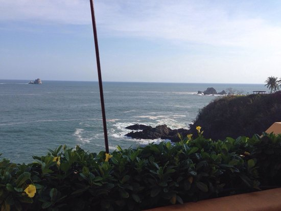 Cala de Mar Resort & Spa Ixtapa : Lovely view from our room