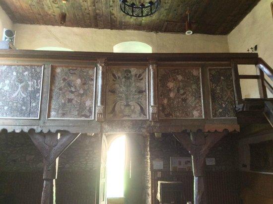 Calnic Fortress: choir loft