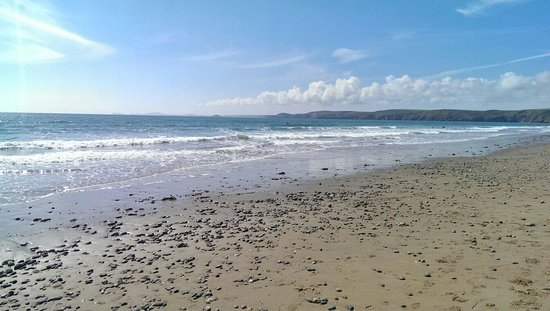 Newgale Beach in June 2014