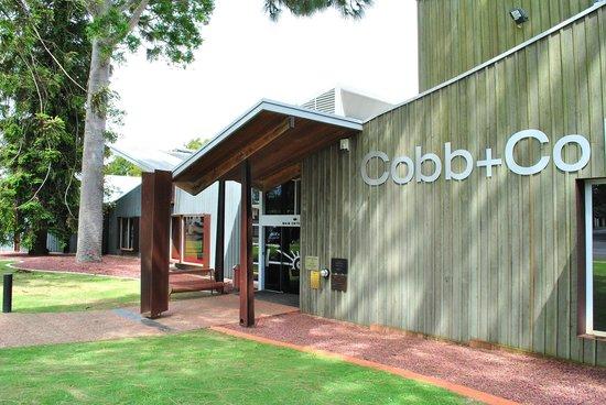 Cobb+Co Museum front entrance