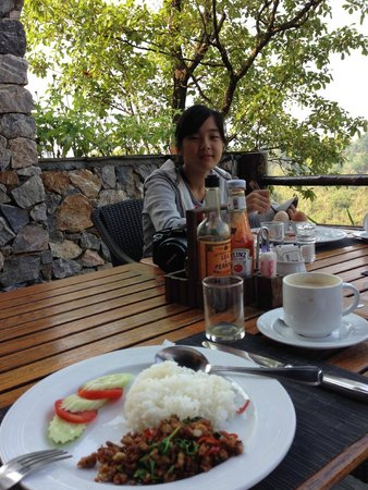Katiliya Mountain Resort & Spa: very nice breakfast
