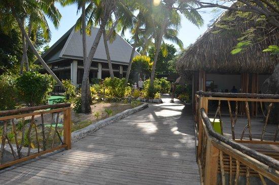 Treasure Island Resort: Bar/reception area