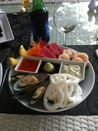 Boathouse by Montara: Seafood Platter