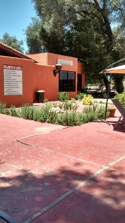 Hacienda Santa Veronica: baño alberca