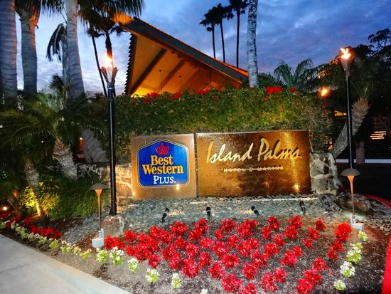 Best Western Plus Island Palms Hotel & Marina: Hotel entrance