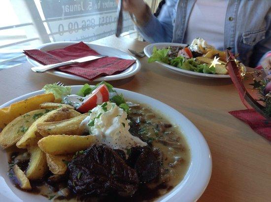 Pillnitz: almuerzo en al barco