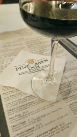 Pine Barn Inn: Good Wines For The Asking