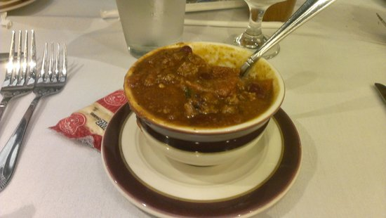 Pine Barn Inn: Chili