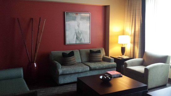 Loews Hotel 1000, Seattle : nice suite