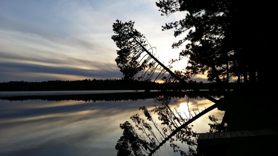 Saint Germain, WI: Excellent sunsets, Great reflections!