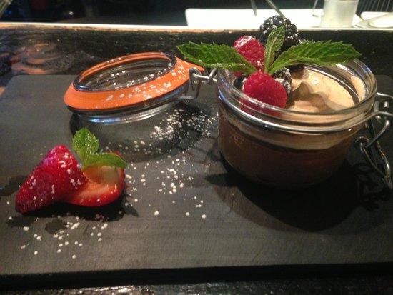 French Alpine Bistro - Creperie du Village : Chocolate Mousse.