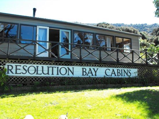 Resolution bay cabins
