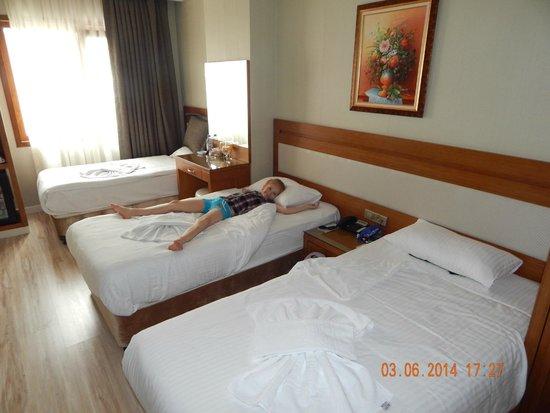 Sorriso Hotel: наш номер !!!