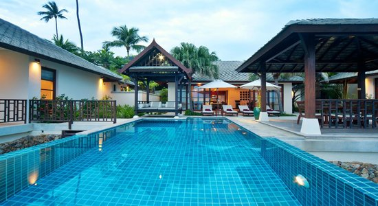 Kanda Residences : Ocean Front Private Pool Villa