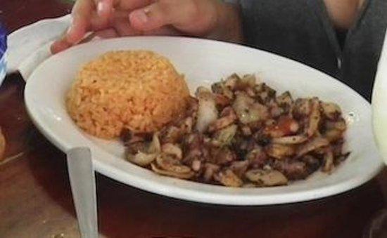 El Cejas : Grilled Octopus and Calamari
