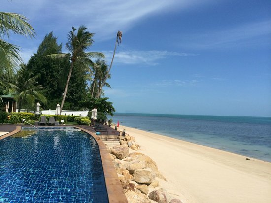 Lotus Samui : View from the front of the Villa grounds