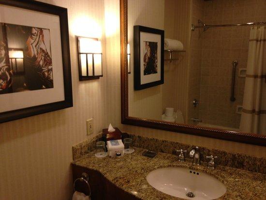 Dallas/Plano Marriott at Legacy Town Center : bathroom
