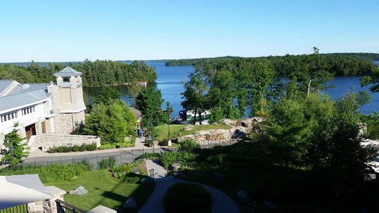 JW Marriott The Rosseau Muskoka Resort & Spa: Spectaular view