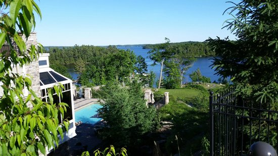 JW Marriott The Rosseau Muskoka Resort & Spa: Spectacular view