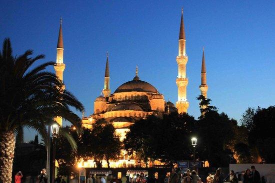 Mosquée Bleue (Sultan Ahmet Camii) : Mesquita Azul - Istambul