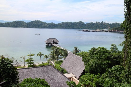 Gaya Island Resort : View from room