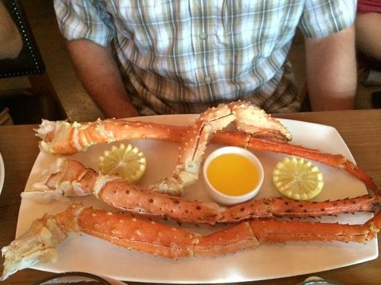 SWITCHBACK GRILLE & TRADING COMPANY : King Crab