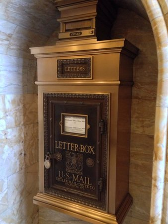 Courtyard by Marriott San Diego Downtown: Original letter box