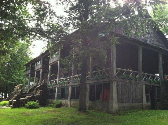 Covewood Lodge : Main lodge