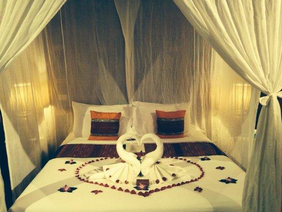 Santhiya Koh Phangan Resort & Spa: Our arrival treat from Cynthia