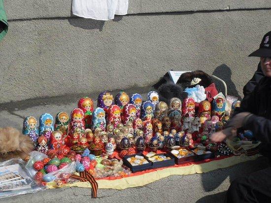 Potemkin Steps : Leve várias das Matryoshka, boneca russa-a sofisticação está nos personagens pintadas à mão.