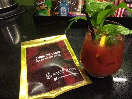 Rydges Latimer Christchurch Hotel: Bloody Mary