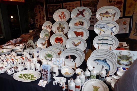 Borough Market: Nice kitchenwares