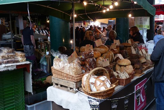 Borough Market - lovely breads