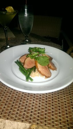 Lodge on the Desert: Highly recommend the maple glazed duck breast.