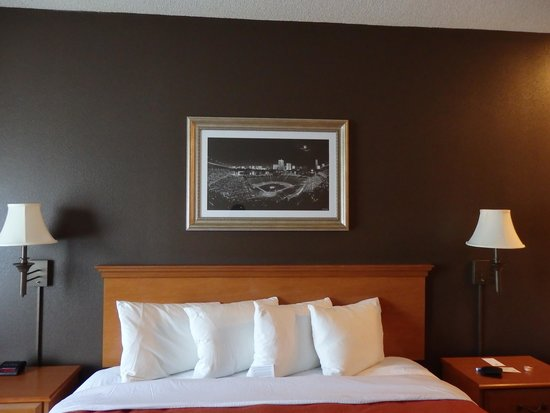 Comfort Inn & Suites at the Ballpark: Baseball themed decor