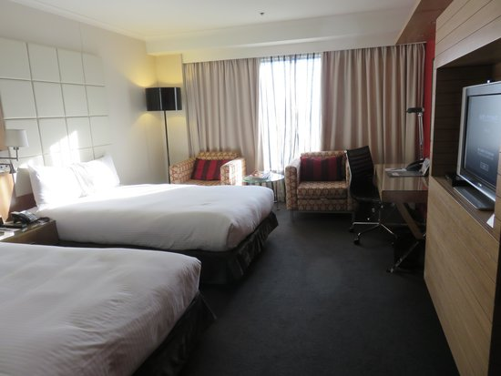 Pullman Sydney Hyde Park : Two double beds