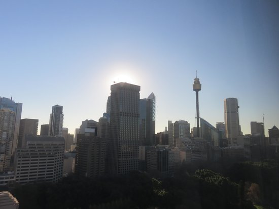 Pullman Sydney Hyde Park : Nice view from the hotel room
