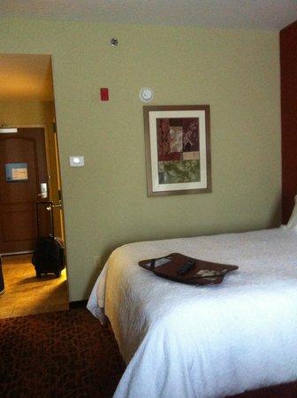 Hampton Inn Magnolia: bed