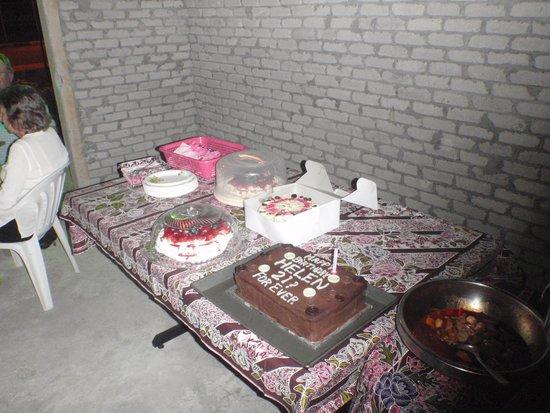 The Wood's Kitchen & Bar Langkawi: Birthday cake