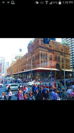 Queen Victoria Building (QVB): outside view