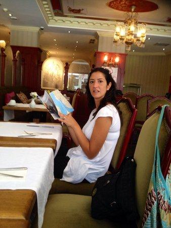 Neyzade Restaurant: Interno!!!!