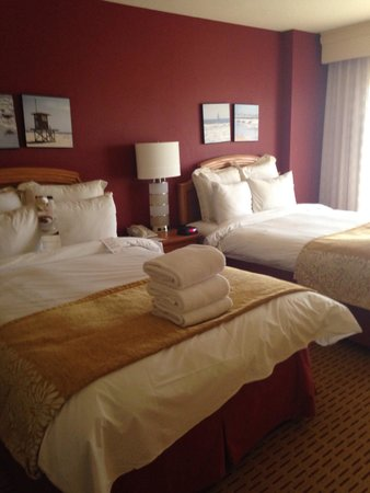 Anaheim Marriott Suites: Suite